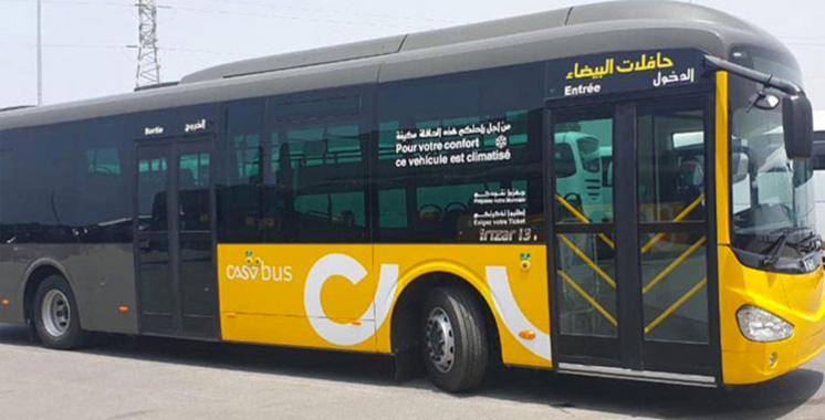 Casabus maintient son service  de transport le jour de l'Aïd