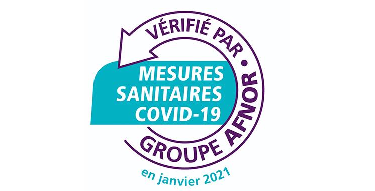 Label'Vie décroche le label «Vérification des mesures sanitaires Covid-19»