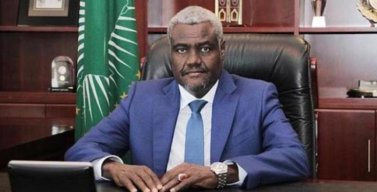 Sommet de l'UA: Moussa Faki Mahamat réélu pour un 2eme mandat à la tête de la Commission de l'Union africaine