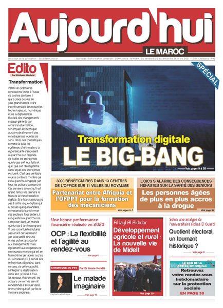 Journal Électronique du Vendredi 26 au Dimanche 28 Mars 2021