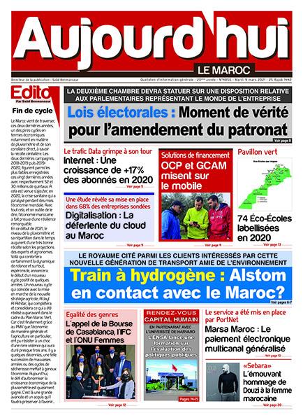 Journal Électronique du Mardi 9 Mars 2021