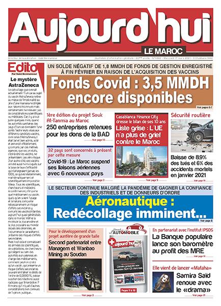 Journal Électronique du Mercredi 17 Mars 2021