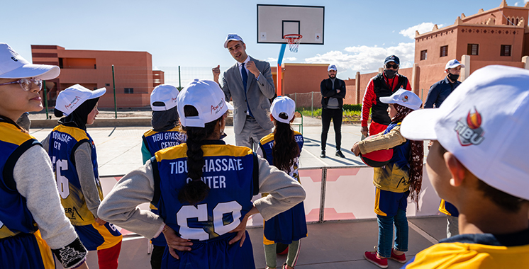 L'éducation par le sport au coeur de la commune de Ghassate