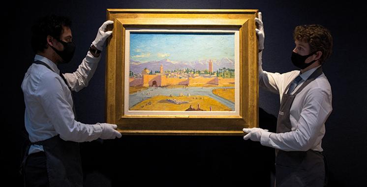 L'œuvre de Churchill représentant  la mosquée Koutoubia vendue à  7 millions de livres sterling à Londres