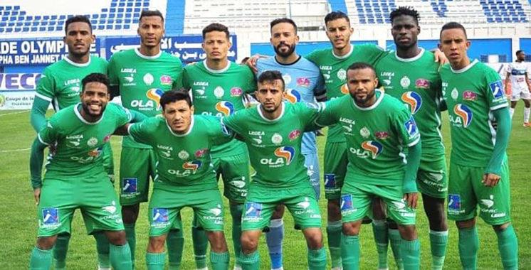 Coupe du Trône: Le Raja, sans forcer, se qualifie aux quarts de finale