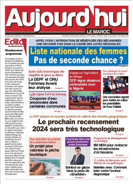 Journal Électronique du Jeudi 4 Mars 2021