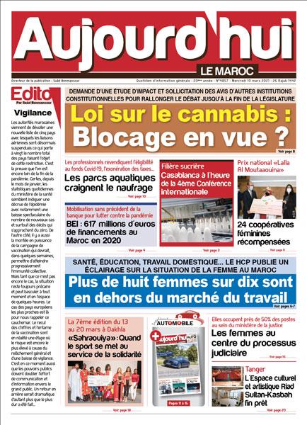 Journal Électronique du Mercredi 10 Mars 2021