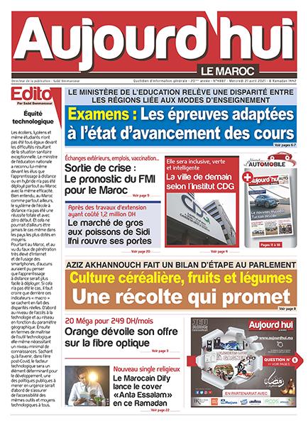 Journal Électronique du Mercredi 21 avril 2021