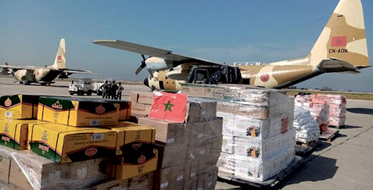 Don royal : Arrivée à Beyrouth  du dernier lot des aides alimentaires
