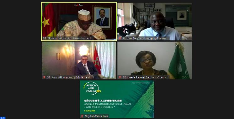 Akhannouch:  La sécurité alimentaire, un des plus grands défis du 21ème siècle