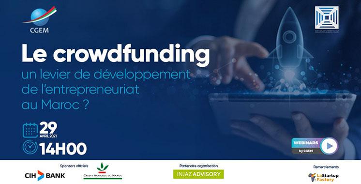 Webinaire : La CGEM et la FSBF décryptent le crowdfunding