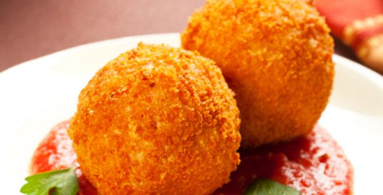 Recette et plats : Croquettes de poulet à la sauce tomate