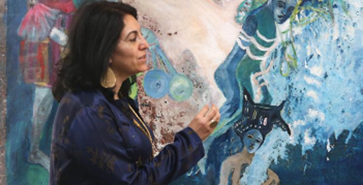 «De l'étranger à l'extraordinaire», exposition  de Laila Benhalima à Tétouan