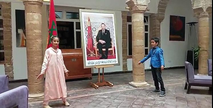 Des ateliers de théâtre en anglais  au profit des enfants d'Essaouira
