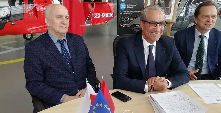 Des chefs d'entreprises polonaises à la rencontre des directeurs des CRI des provinces du Sud