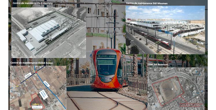 Du photovoltaïque pour les centres de maintenance du tramway casablancais
