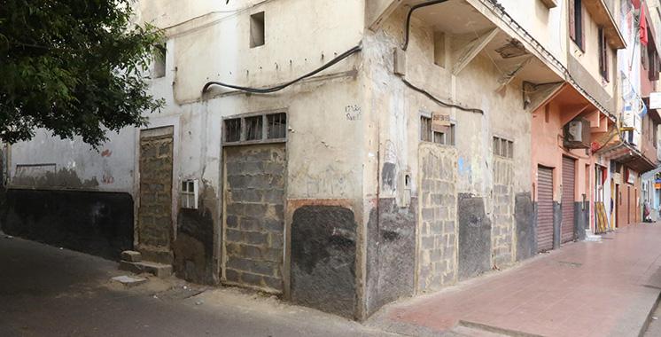 Habitats menaçant ruine : 11 familles de Derb Moulay Cherif relogées