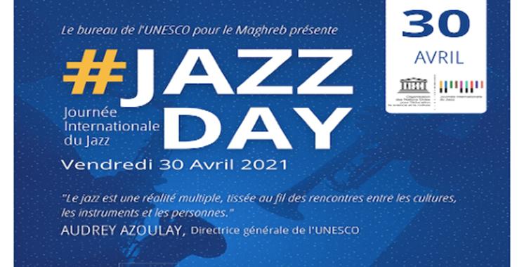 Diffusion d'une œuvre musicale liée au «Jazz Day» le 30 avril