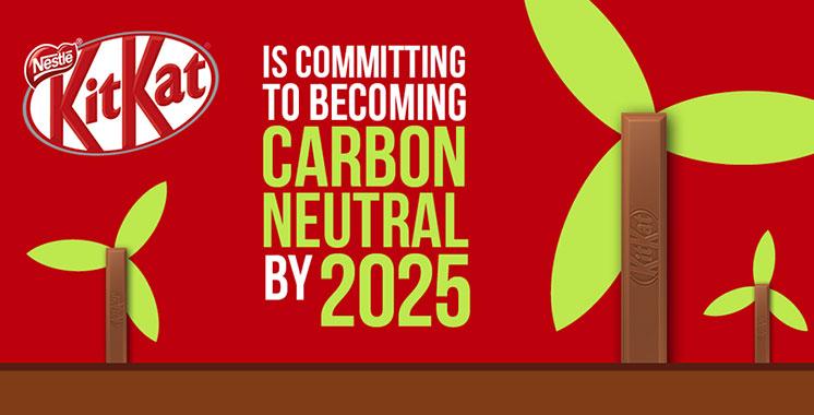 Développement durable : KitKat sera neutre en carbone d'ici 2025