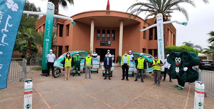 Gestion des déchets ménagers et assimilés : Mecomar lance une campagne  de sensibilisation à Marrakech