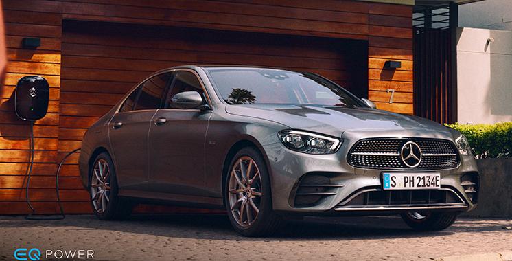 Sur la voie de la mobilité électrifiée / Mercedes : 5 nouveaux modèles hybrides présentés par Auto Nejma