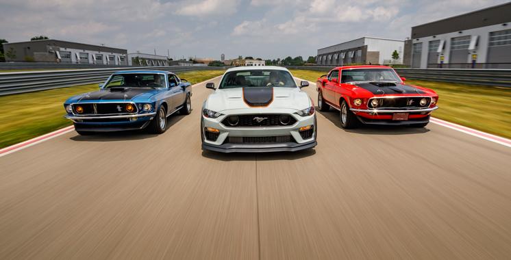 Pour la seconde année consécutive : Ford Mustang obtient le titre de la voiture de sport la plus vendue au monde