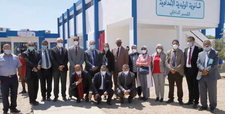 Province de Sidi Bennour : Inauguration de l'internat  du collège Oualidia