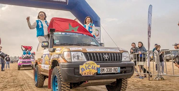 Initialement prévue en mai : La 30è édition du Rallye Aïcha des Gazelles reportée à l'automne prochain