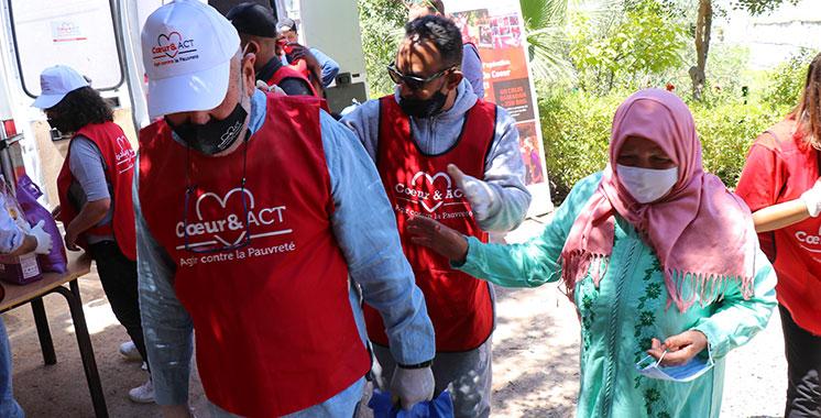 Pour sa nouvelle action philanthropique : Cœur & ACT Maroc collecte 300.000 DH pour distribuer 1200 colis alimentaires