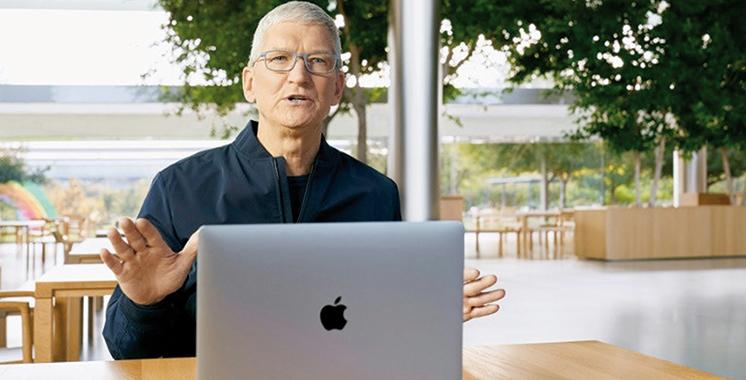 Le patron d'Apple évoque les travaux  sur les technologies de la voiture autonome