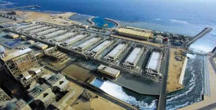 Le projet de la nouvelle station de dessalement  de Laâyoune avancé à 80%