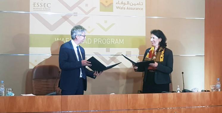Formation continue : Wafa Assurance sollicite l'ESSEC pour accompagner ses équipes