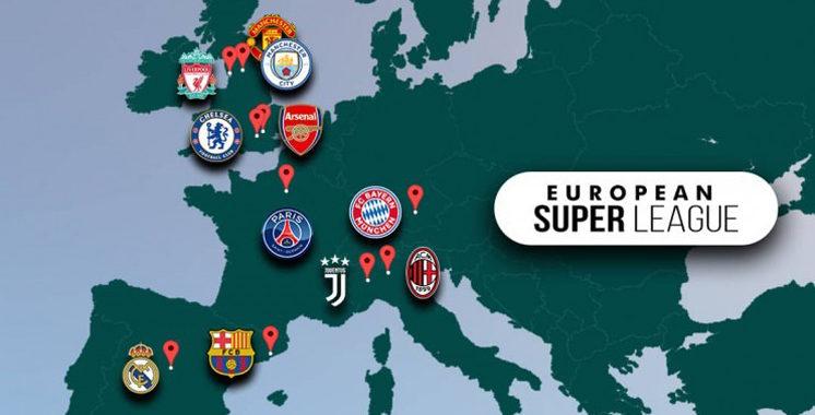 Une compétition privée qui ne fait pas l'unanimité : La Super League embrase  le football européen