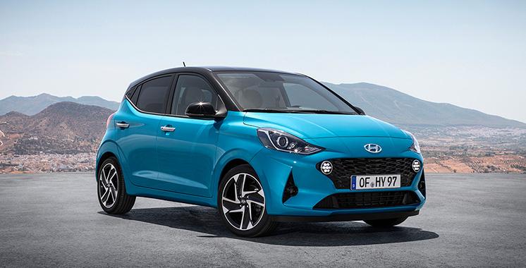 Hyundai dévoile sa petite citadine : La troisième génération de la i10 arrive