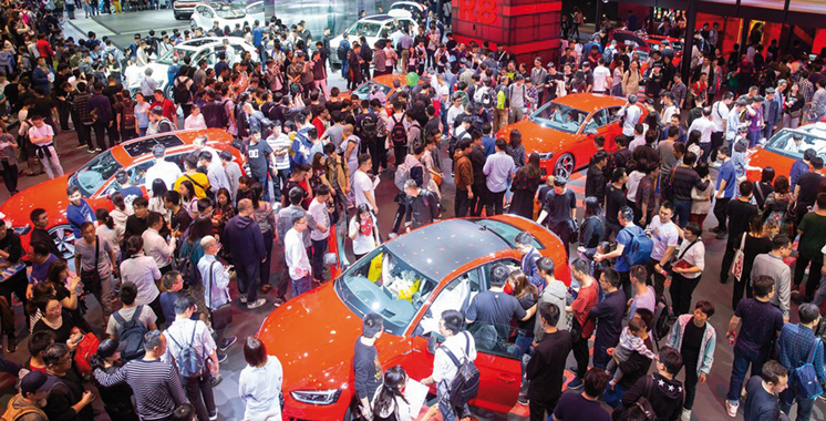 La Chine à l'heure du 19e Salon international de l'industrie  automobile à Shanghai