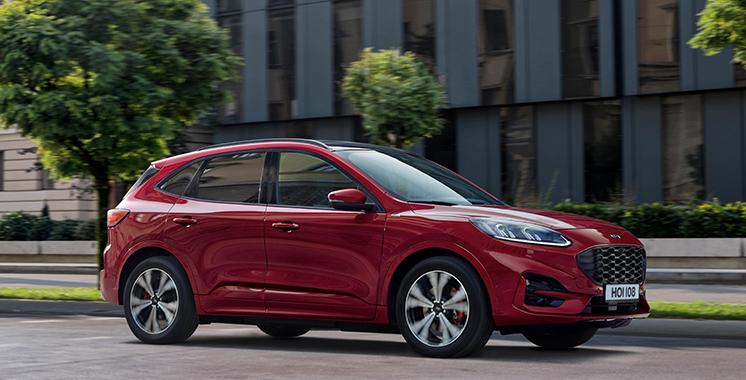 Coty Morocco  : Le nouveau Ford Kuga élu «Car of the Year 2021» au Maroc