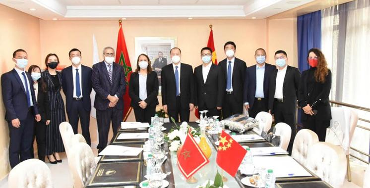 Coopération sino-marocaine : Le projet de la Cité Mohammed VI  Tanger Tech mis en avant