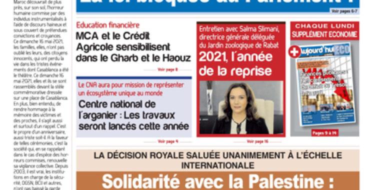 Journal Électronique du Lundi 17 mai 2021