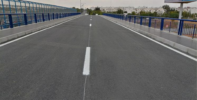 Autoroute Casablanca-Tanger : ADM ouvre la circulation du passage supérieur de l'avenue Mohammed VI de Témara