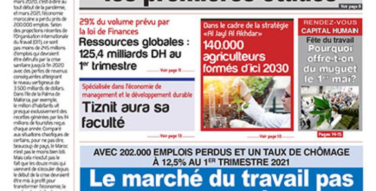 Journal Électronique du mardi 4 mai 2021
