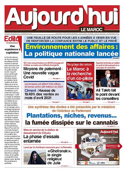 Journal Électronique du jeudi 6 mai 2021