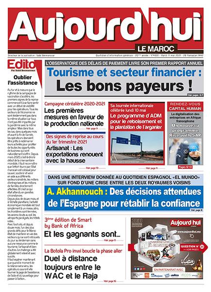 Journal Électronique du Mardi 11 mai 2021