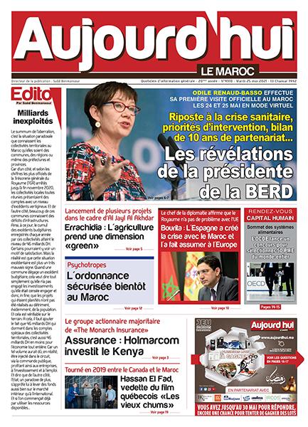 Journal Électronique du Mardi 25 Mai 2021
