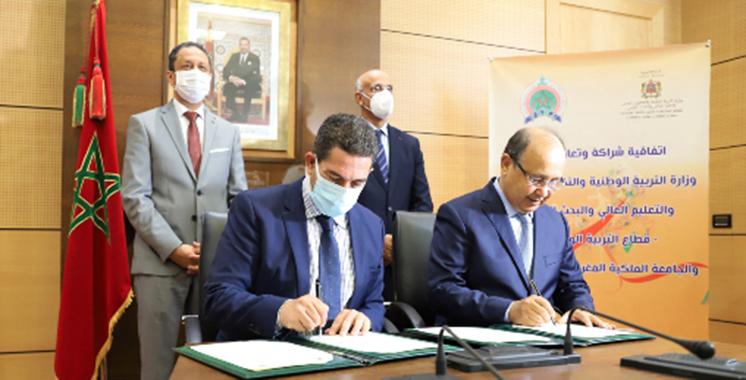 Promotion du sport scolaire: Signatured'une convention cadre entre l'Education nationale et la fédération de l'athlétisme