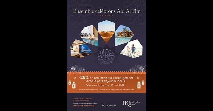 Hôtelleries : Kenzi Hôtels célèbre Aid Al Fitr avec «une méga promo»
