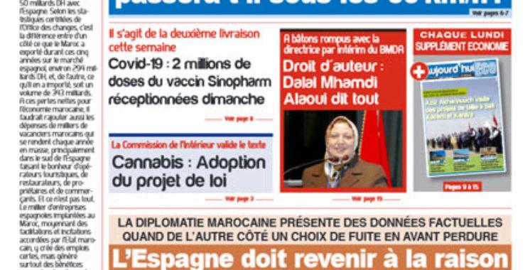 Journal Électronique du Lundi 24 Mai 2021