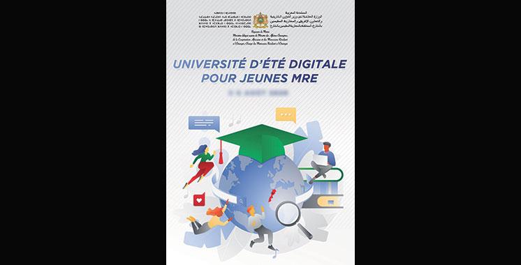 13ème édition de l'Université d'été virtuelle en faveur des jeunes MRE les 5 et 6 août