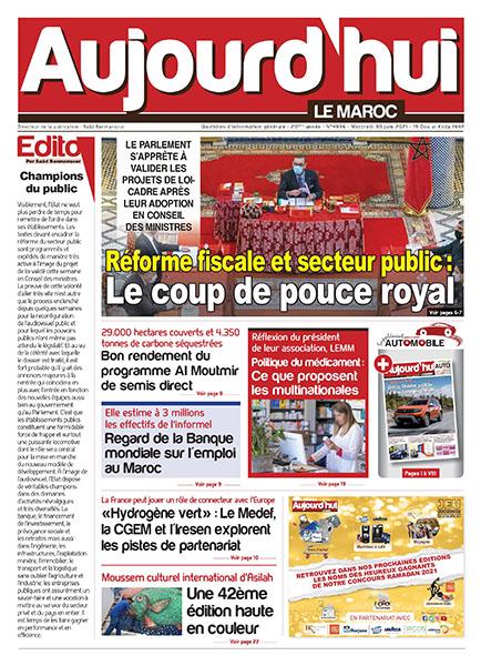Journal Électronique du mercredi 30 juin 2021 | Aujourd ...