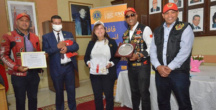 Philanthropie : Aawatif Hayar accueille le Lions Club Unité ENCG Casablanca