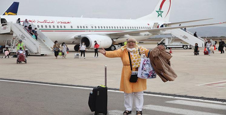 Les aéroports du Maroc ont accueilli 195.547 passagers en une semaine